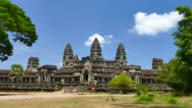 Angkor Wat Temple in Cambodia video