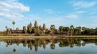 Angkor Wat Temple, Siem Reap, Cambodia, 4K Time lapse video