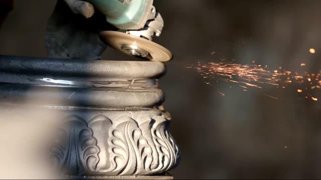 Angle grinder cut metal video