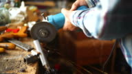 Angle Grinder in Action video