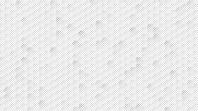 Animated blinking black polka dot background element video