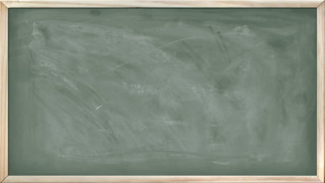 Animated Chalkboard Texture video