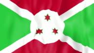 Animated flag of Burundi video