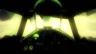 Animated flight video
