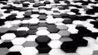 Animated Hexagons video