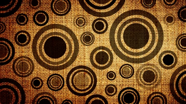 Animated Rings Loop - Woven Texture (HD 1080) video