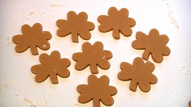 Animated Shamrock Cookies video
