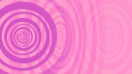 Animated Spiral in Pink and Purple as a Background. video