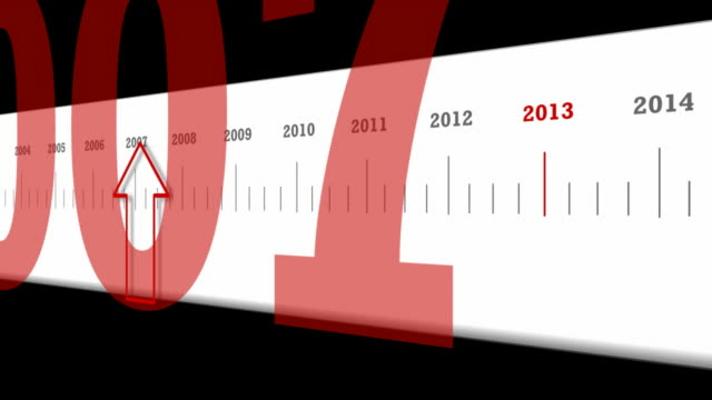 Animated Timeline For 2013 video