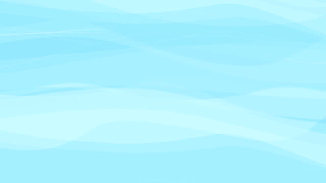 Animated Waves as a Background video