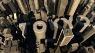 animation 3d from the name of city  Tokyo video