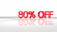 80% OFF 3D animation concept. video