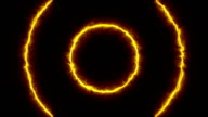 Animation energy portal video