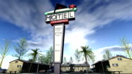 Animation of a motel video