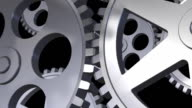 Animation of gears video