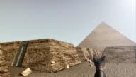 3D animation of the Giza platform Egypt video