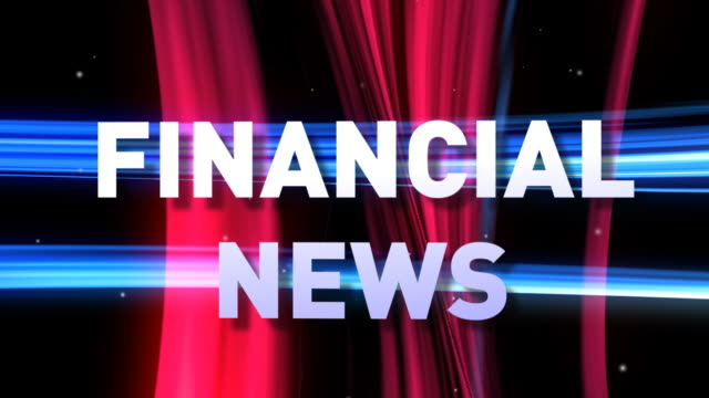 HD: 3D FINANCIAL NEWS animation video