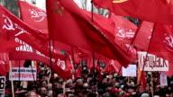 DONETSK anniversary of the socialist revolution video