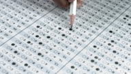 Answer Sheet Exam Filling Test Paper video