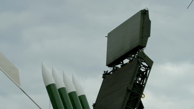 Anti-Aircraft Missile on Duty video