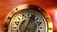 Antique Brass Compass video