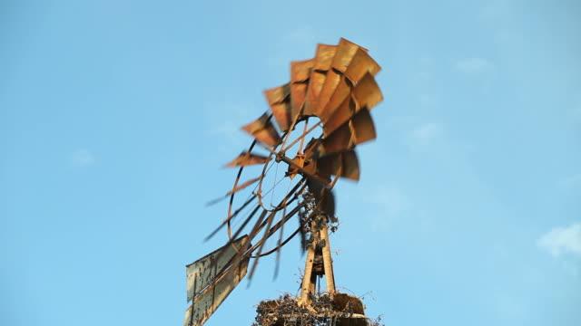 Antique Farm Windmill video