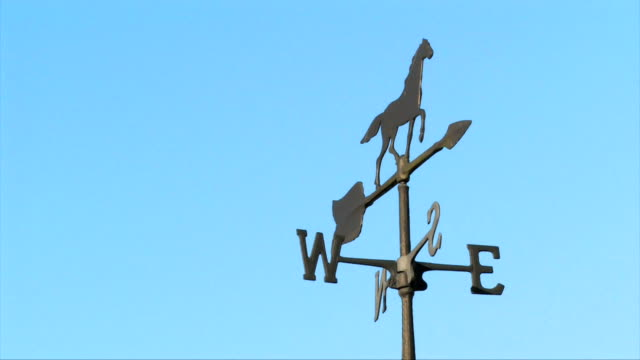 Antique Weather Vane Moves in the Wind video