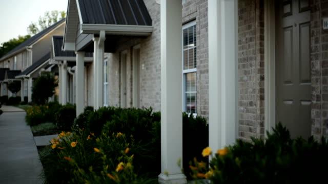 Apartment exterior video