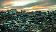 Apocalyptic landscape video