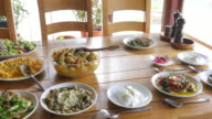 Appetizer of Turkish Cuisine video
