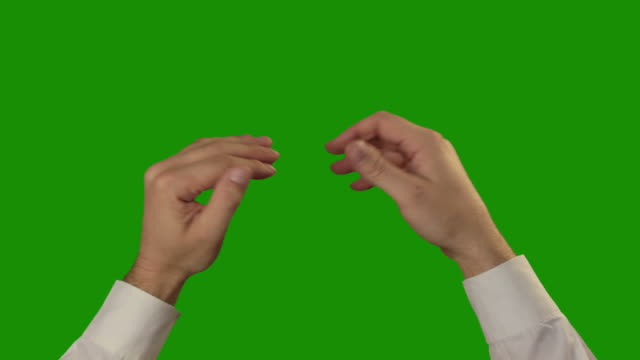Applause on the green Chroma Key video