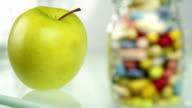 Apple or Pills Choice video