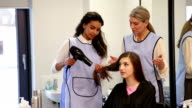 Apprentice Hairdresser video