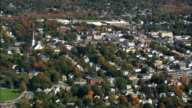 approach to Salem - Aerial View - Massachusetts,  Essex County,  United States video