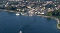 Approaching Bardolino  - Aerial View - Veneto, Provincia di Verona, Bardolino, Italy video
