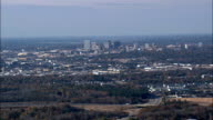 Approaching Columbia  - Aerial View - South Carolina,  Richland County,  United States video