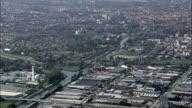 Approaching Padua  - Aerial View - Veneto, Padua, Padova, Italy video