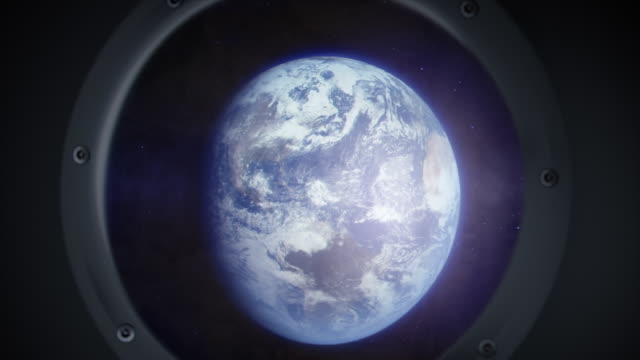 Approaching the earth video