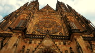 Approaching the St Vitus Cathedral-POV Walking Shot video