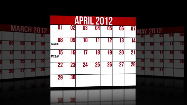 April, May, June 2012 video