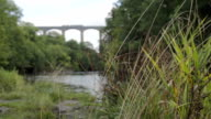 Aqueduct Over The River Dee video