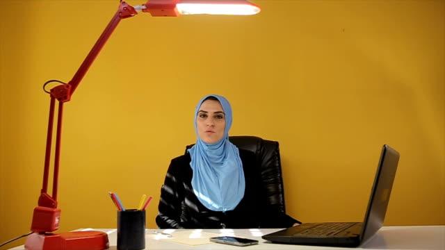 Arab female leader video