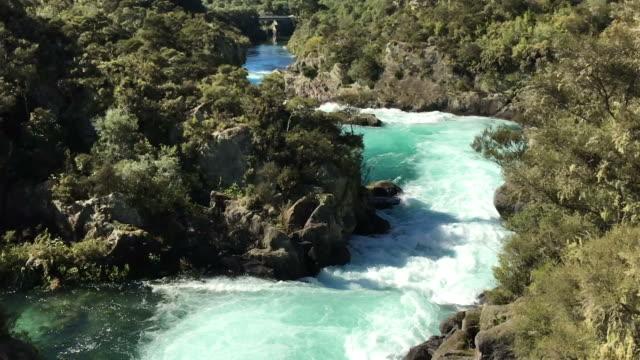 Aratiatia Rapids on the Waikato River New Zealand video
