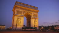 Arc de Triumph Paris video