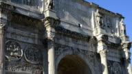 Arco di Costantino, Rome, Italy video