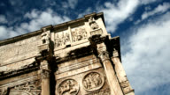 Arch of Constantine, Rome video