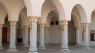 Arches and columns Great Mosque in Sharm el-Sheikh video