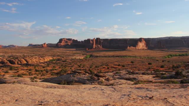 Arches National Park landscape - 4K video