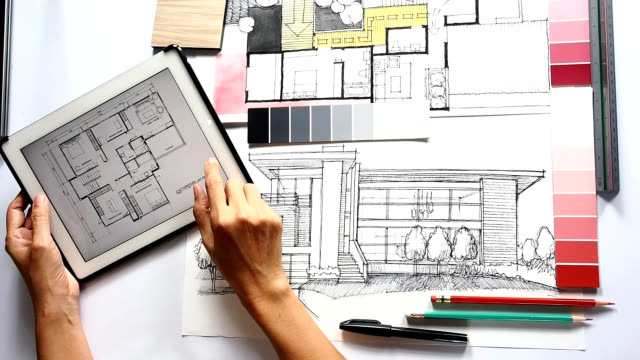 Working In Interior Design interior designer hd video & 4k b-roll - istock