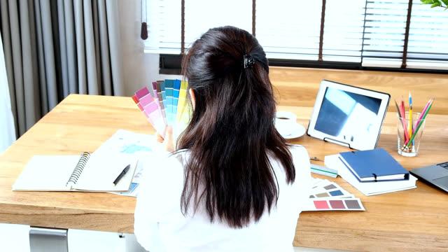 Architect & Interior designer's working table video